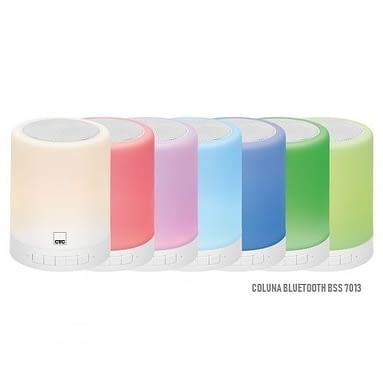 Coluna Bluetooth com Iluminação – Clatronic, BSS 7013